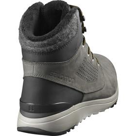 Salomon Utility Winter CS WP Shoes Herre beluga/black/green sulphur